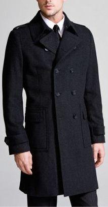 Express Mens Military Top Coat | - Dimitri Todd -